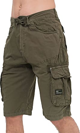 Crosshatch Mens Shorts CHASEFORTH Khaki 32