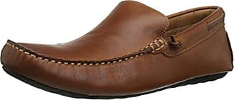 G.H. Bass & Co. Mens Walter Slip-On Loafer, Dark Tan, 11.5 M US
