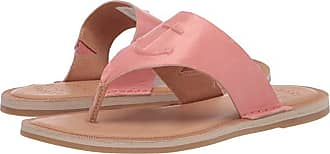 Sperry Top-Sider Seaport Thong Leather (Nantucket Red) Womens Sandals