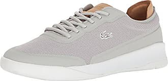 Lacoste Mens Light Spirit Elite 117 3 Casual Shoe Fashion Sneaker, Grey, 8 M US