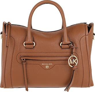 Michael Kors Tote - Carina MD Satchel Bag Luggage - cognac - Tote for ladies
