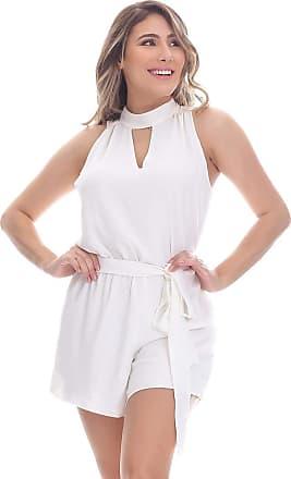 Clara Arruda Macaquinho Clara Arruda Detalhe Busto 80021 - M - Off White