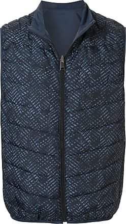Durban quilted gilet - Blue