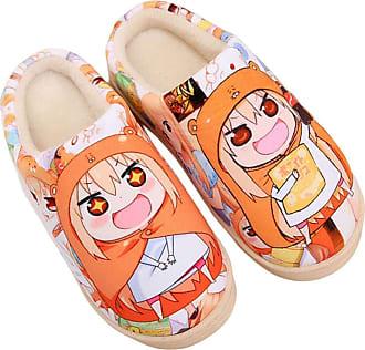 Cosstars Himouto! Umaru-chan Anime Anti-slip Home Slippers Cute Plush Warm Indoor Shoes