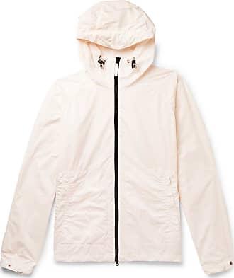 Aspesi Garment-dyed Shell Hooded Jacket - Pink