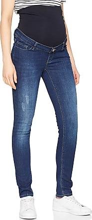 Esprit Maternity ESPRIT Maternity Womens Pants Denim OTB Slim Jeans, Darkwash Blue, 34W / 32L