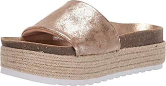 8889469a1add Dirty Laundry by Chinese Laundry Womens Pippa Espadrille Wedge Sandal Gold  Shimmer 5.5 M US