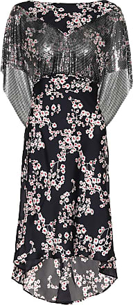 Paco Rabanne Embellished floral dress