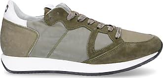 Philippe Model Sneaker low MONACO Logo Patch grün olive