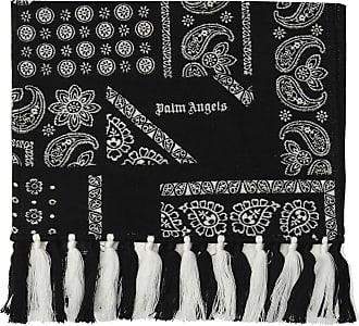 Palm Angels Logo Scarf Mens Black