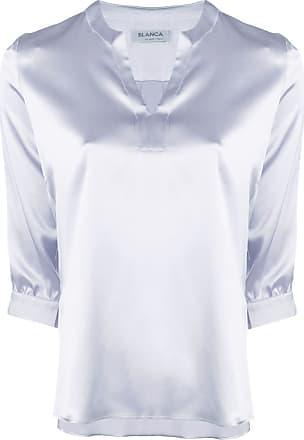 Blanca Blusa de seda - Roxo