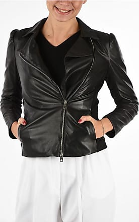 Armani EMPORIO Leather Jacket Größe 40