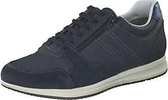 Geox Men's J Harrod 2 Leather Sneaker