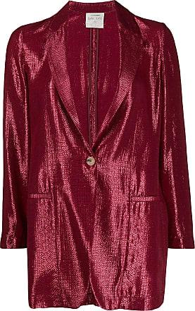 Forte_Forte geometric print single-breasted blazer - Red