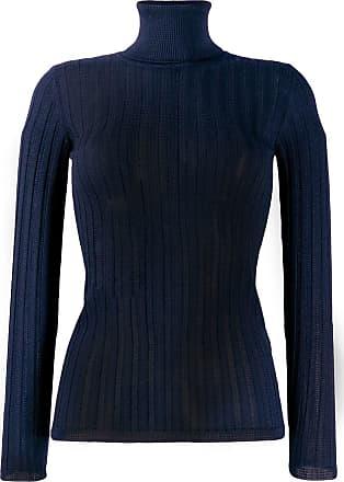 M Missoni Blusa slim de tricô - Azul