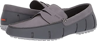 7b3456629ae Swims Penny Lux Loafer Driver (Gray Alloy) Mens Shoes