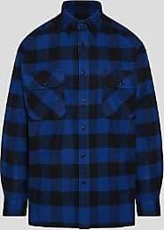 Woolrich Woolrich Alaskan Buffalo Shirt Blau - large