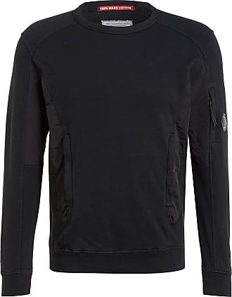 C.P. Company Sweatshirt im Materialmix - SCHWARZ