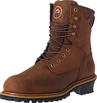 Irish Setter Work Mens Mesabi Steel Toe 83838 Boot, Brown, 12 2E US