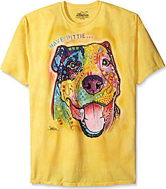 The Mountain Have Pittie T-Shirt, 4X-Large, Yellow