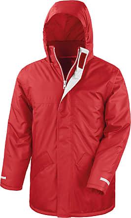 Result Mens Winter Parker Jacket Red S