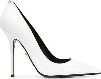 Versace Sapato com estampa barroca - Branco