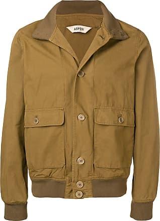 Aspesi cargo pocket military jacket - Green
