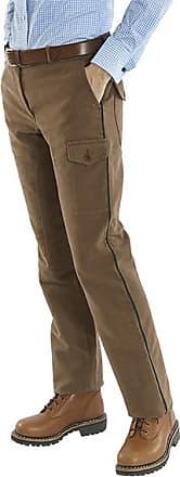 Franken & Cie. Field trousers moleskin, green piping