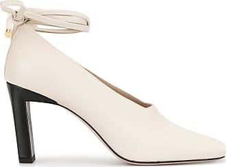 Wandler Sapato Isa Mule com salto 85mm - Branco