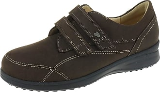 Finn Comfort Mestre Ladies Shoe In Blue Nubuck