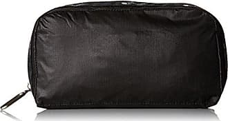 LeSportsac 2265-C074 Essential Everyday Cosmetic Bag, True Black, One Size