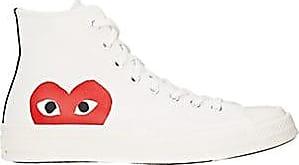 Comme Des Garçons Mens Chuck Taylor 1970s Sneakers - White Size 12 M