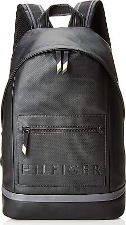 1b6d1ed02 Tommy Hilfiger Offshore Backpack, Mens Black (Black/Asphalt), 16x44x31 cm (