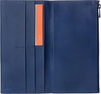4961782cdb DuDu Portafoglio Uomo Grande Verticale Bifold in Vera Pelle con Cerniera Zip  esterna Porta Carte e