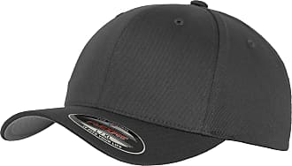 Yupoong Mens Flexfit Fitted Baseball Cap (LXL) (Dark Grey)