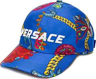 Versace Gioielleria Jetés print baseball hat - Blue