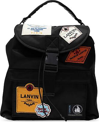 Lanvin Branded Single-shoulder Backpack Mens Black