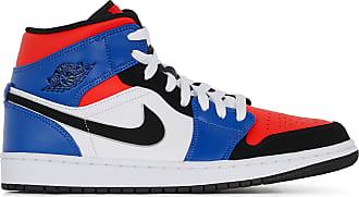 finest selection 7107a 8f6c0 Nike AIR JORDAN 1 MID JORDAN NOIR ROUGE BLEU 43 HOMME JORDAN NOIR