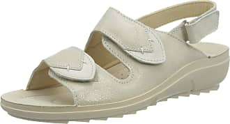 Rohde Womens Bolongna Ankle Strap Sandals, Beige (Elfenbein 02), 3.5 UK