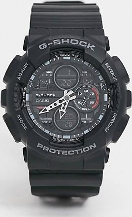 Casio G Shock skeleton watch in black GA-140GB