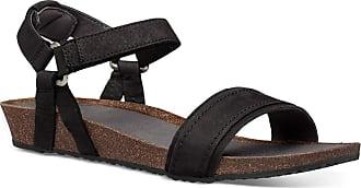Teva Unisex Adults Mahonia Stitch Sandal Womens Hiking Shoe, Black, 8.5 UK