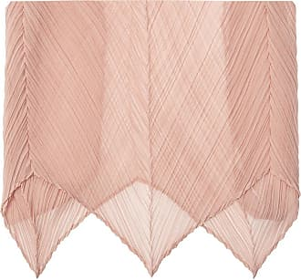 Issey Miyake Pleated Scarf Womens Pink