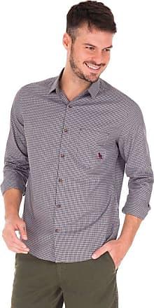 SideWalk Camisa Mini Xadrez Fio 50 - Preto - Tamanho P