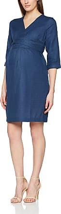 Mama Licious Womens Mlvintage 3/4 Woven Abk Dress, Blue (Medium Blue Denim), 38 (Size