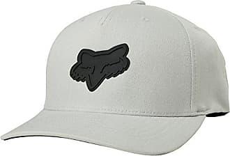 Fox Mens 110 Curved Bill Snapback Hat, Heather Grey, OS