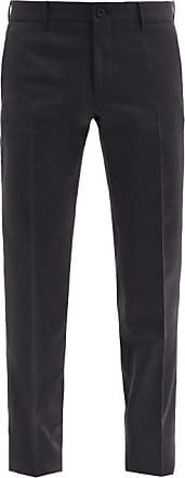 Incotex Urban Traveller Wool-blend Trousers - Mens - Navy
