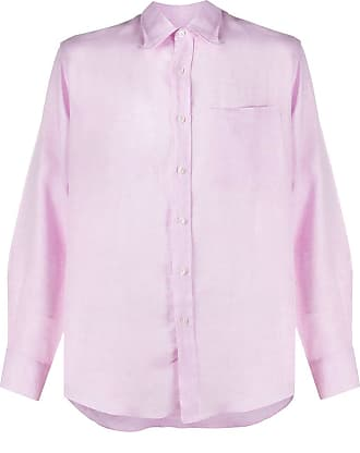 Missoni Camisa slim de linho - Rosa