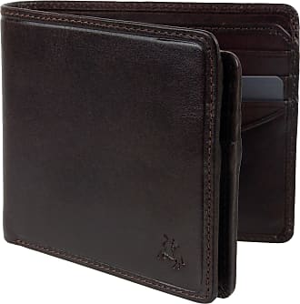 Visconti Mens Italian Leather Stylish RFID Protected Wallet by Visconti Tuscany Gift Box