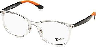 63986fff5e Ray-Ban 0RX7142, Monturas de Gafas para Hombre, Marrón (Transparente),