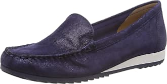 Caprice Womens Inoxy Loafers, Blue (Blue Jeans Sue 802), 6.5 UK